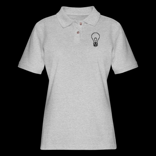 lightbulb by bmx3r - Women's Pique Polo Shirt