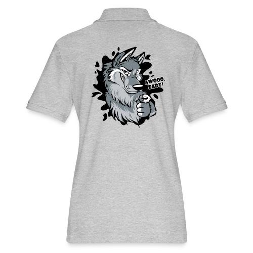 Awooo Baby - Women's Pique Polo Shirt
