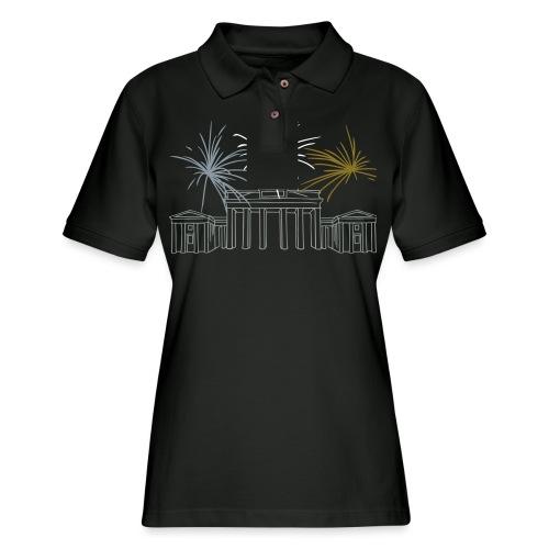 Brandenburg Gate Berlin - Women's Pique Polo Shirt