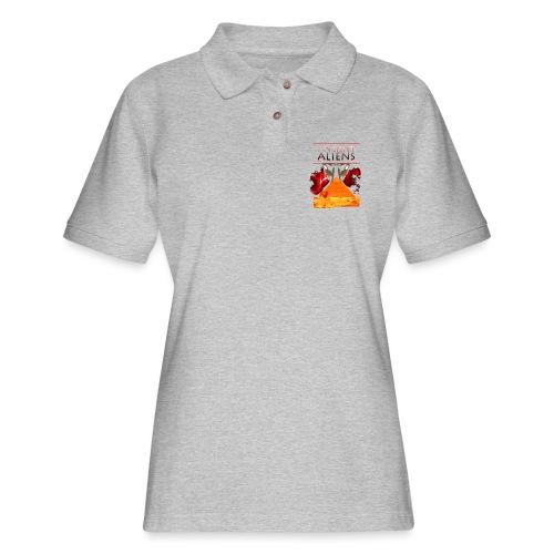 Ancient Aliens - Women's Pique Polo Shirt