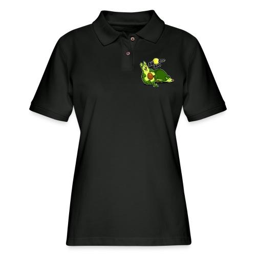 Awooocado - Women's Pique Polo Shirt