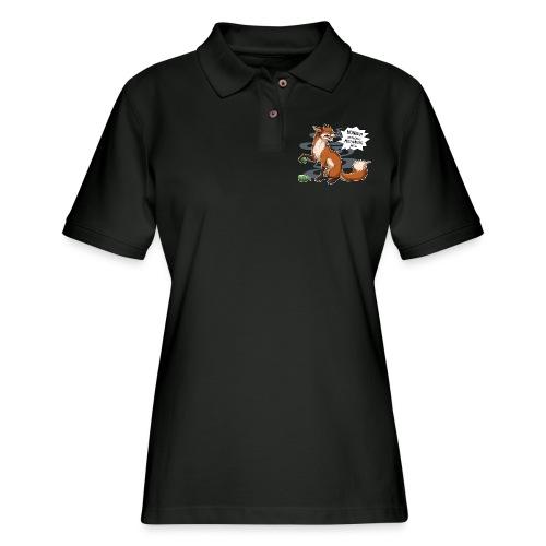 Out of Motivation - Women's Pique Polo Shirt