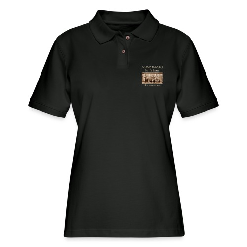 Annunaki 12th planet - Women's Pique Polo Shirt