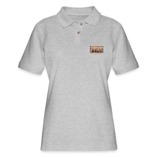 Annunaki 12th planet - Women's Pique Polo Shirt