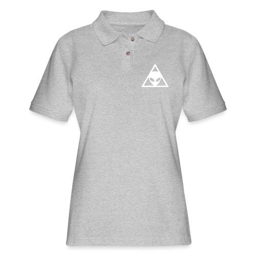 Alien Conspiracy - Women's Pique Polo Shirt