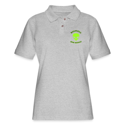 Roswell New Mexico - Women's Pique Polo Shirt