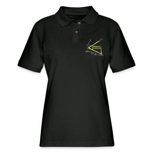 bermuda triangle - Women's Pique Polo Shirt