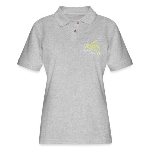 bermuda triangle - Women's Pique Polo Shirt