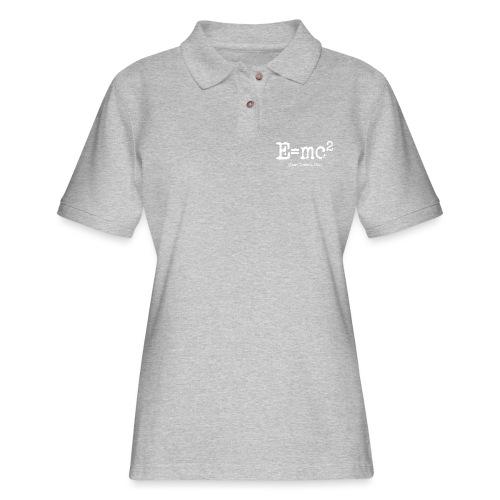 E=mc2 - Women's Pique Polo Shirt