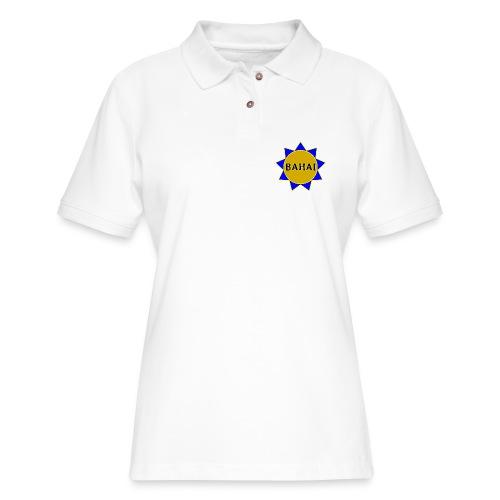 Bahai star - Women's Pique Polo Shirt
