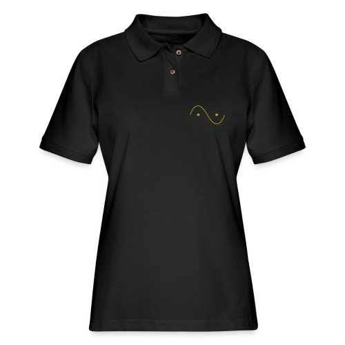 Quantum wave and particle - Women's Pique Polo Shirt