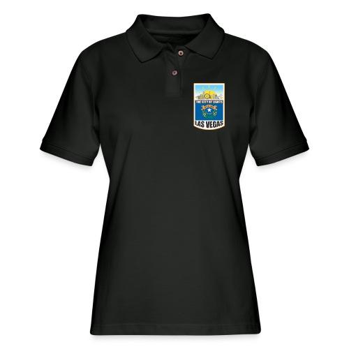 Las Vegas - Nevada - The city of light! - Women's Pique Polo Shirt