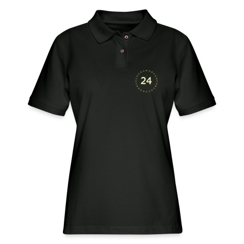 24 stars - Women's Pique Polo Shirt