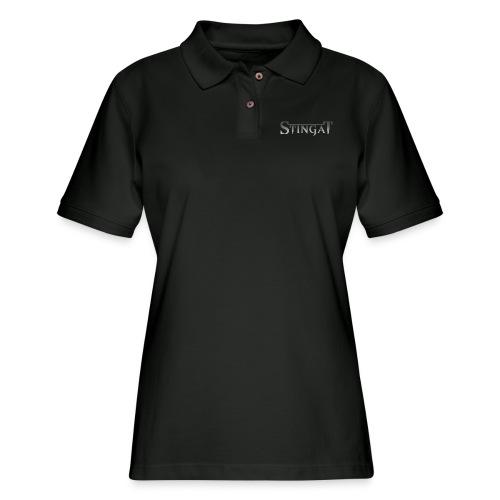 Stinga T LOGO - Women's Pique Polo Shirt