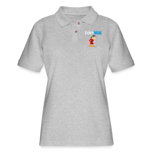 Damn Dixie - Women's Pique Polo Shirt