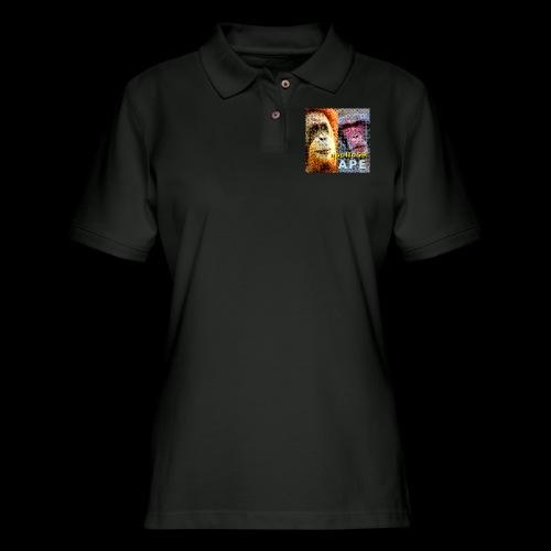 APE - Apollo59 Cover Art - Women's Pique Polo Shirt