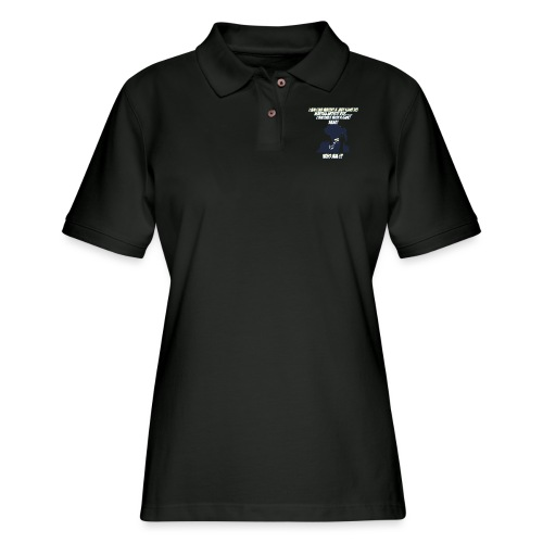 AnimeBusters Guess Who Series- Spike - CowboyBebop - Women's Pique Polo Shirt