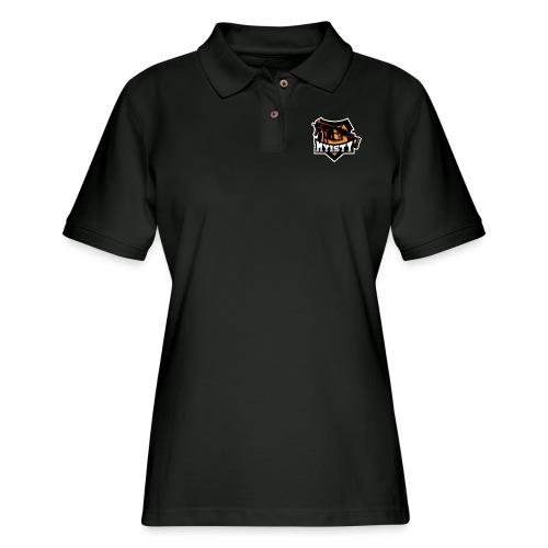 Myisty logo - Women's Pique Polo Shirt