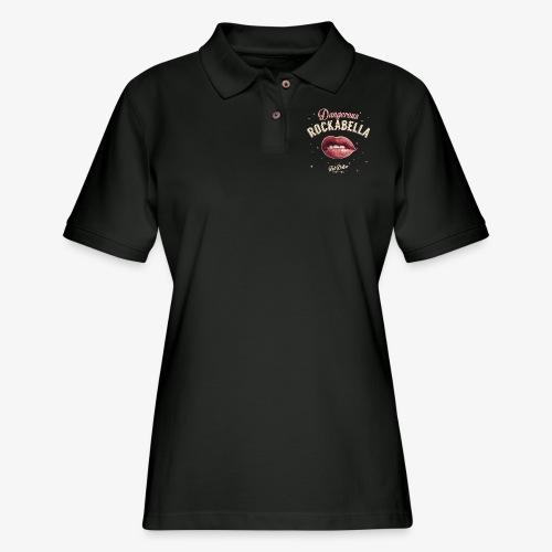 Dangerous Rockabella - Women's Pique Polo Shirt