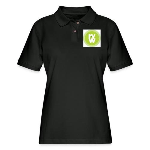 Recover Your Warrior Merch! Walk the talk! - Women's Pique Polo Shirt