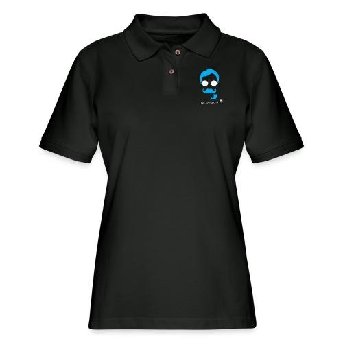 Geo Professor - Women's Pique Polo Shirt