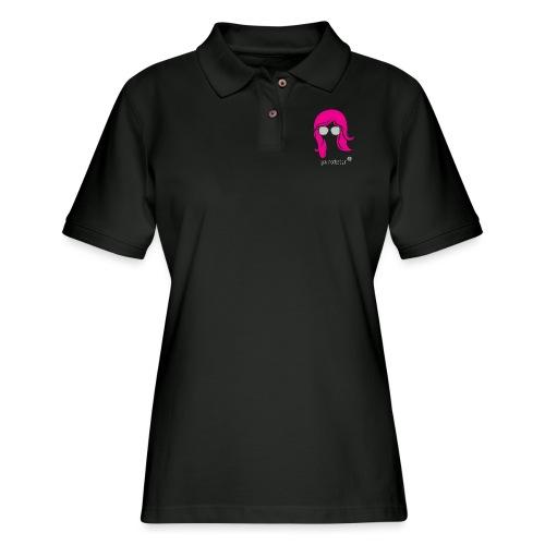 Geo Rockstar (her) - Women's Pique Polo Shirt