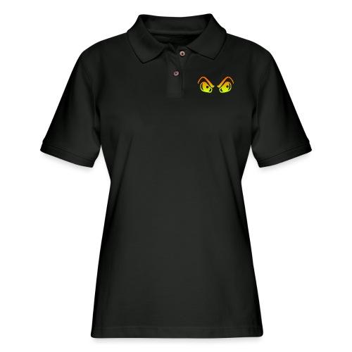 HALLOWEEN EYES - Women's Pique Polo Shirt