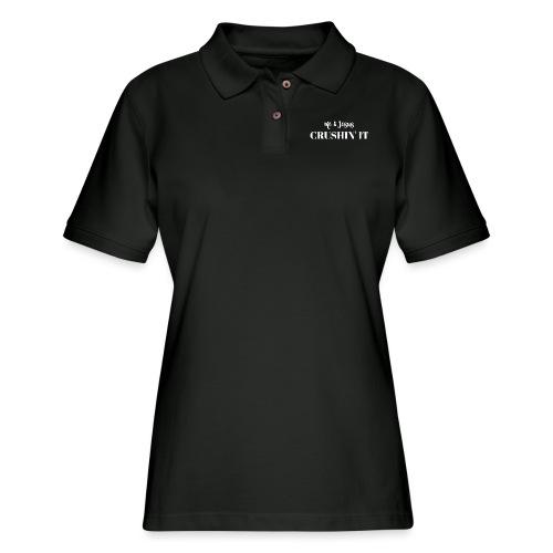 Crushin' it - Women's Pique Polo Shirt