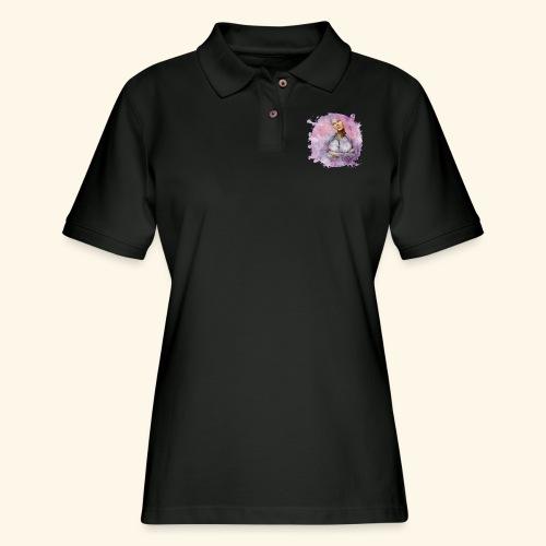 Nebula - Women's Pique Polo Shirt