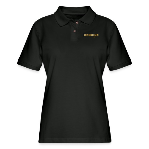 Genuine - Hobag - Women's Pique Polo Shirt