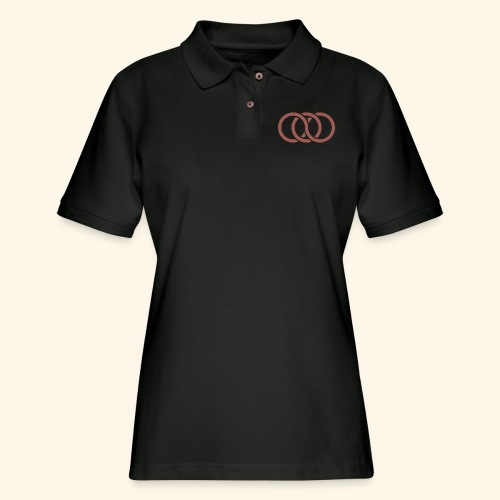 circle paradox - Women's Pique Polo Shirt