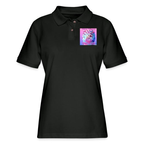 Never To Lazy To Be A Unicorn - Women's Pique Polo Shirt