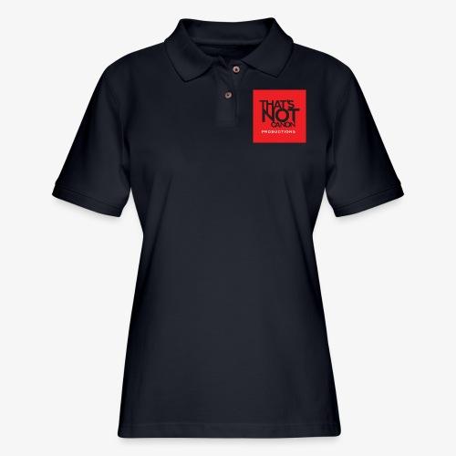 That's Not Canon Logo - Women's Pique Polo Shirt