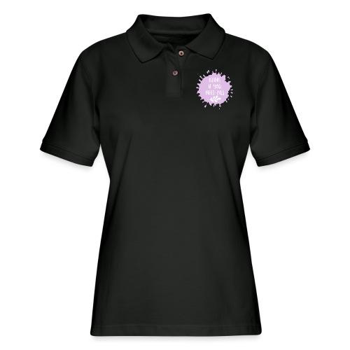 Blink if you need oils - Women's Pique Polo Shirt