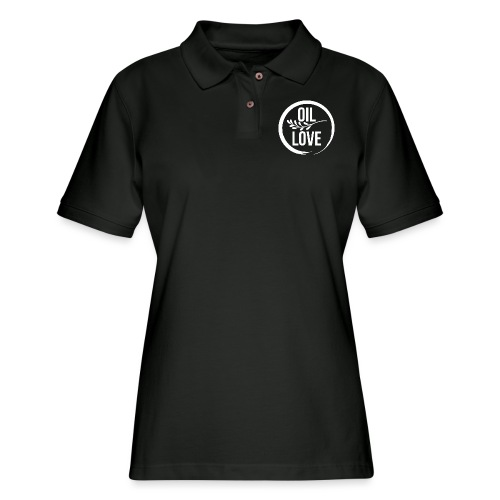 Oil Love - Women's Pique Polo Shirt