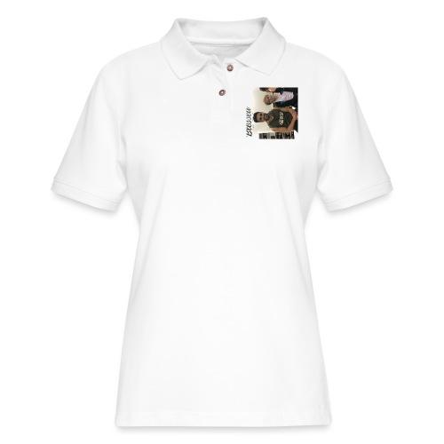 me with gorge janko - Women's Pique Polo Shirt