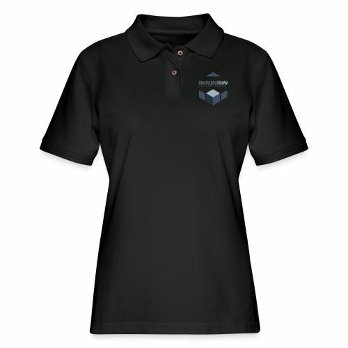 KnowledgeFlow Cybersafety Foundation - Women's Pique Polo Shirt
