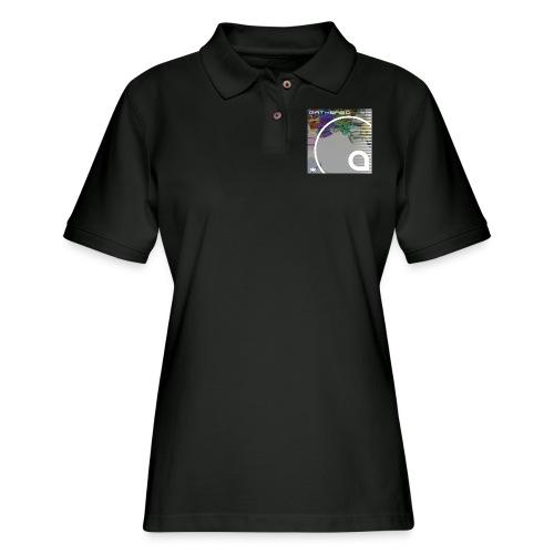 Gathered - Women's Pique Polo Shirt