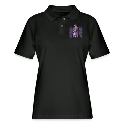 Acro Aztec - Women's Pique Polo Shirt
