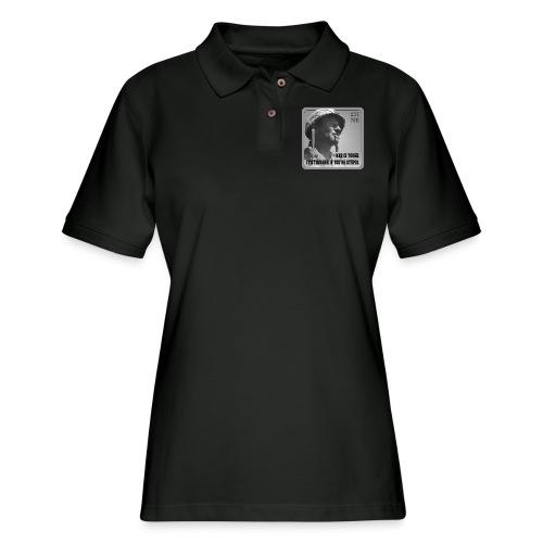 War Is Tough - Women's Pique Polo Shirt