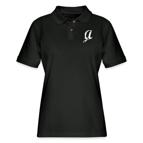 Already Logo White - Women's Pique Polo Shirt