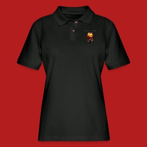 Days of Black Clan Of Xymox Album Shirt - Women's Pique Polo Shirt