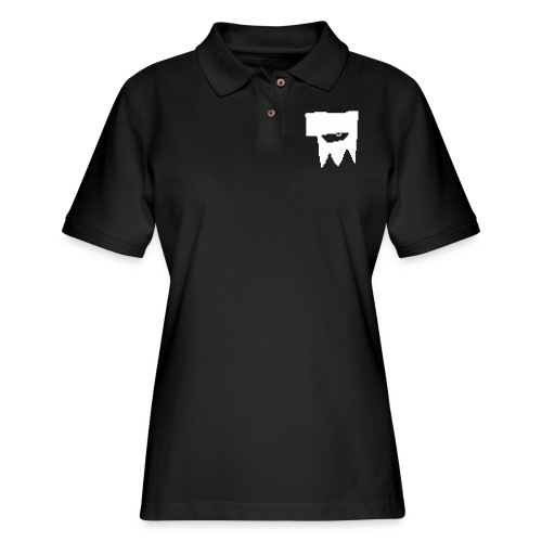 KOOLSKULL CLASSIC 2008 MS PAINT LOGO - Women's Pique Polo Shirt