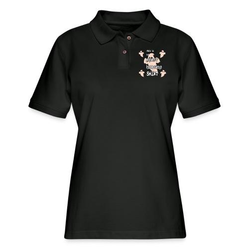 Ghost hunting shirt - Women's Pique Polo Shirt