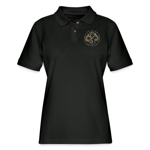 Witness True Sorcery Emblem (Alu, Alu laukaR!) - Women's Pique Polo Shirt