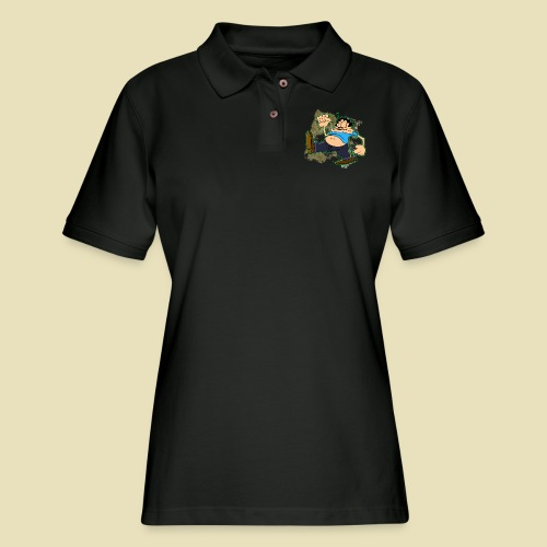 Ongher's UFO Ongher March - Women's Pique Polo Shirt
