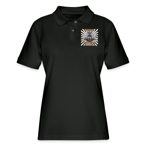 The League of Extraordinary Beer Drinkers Crest Wo - Women's Pique Polo Shirt