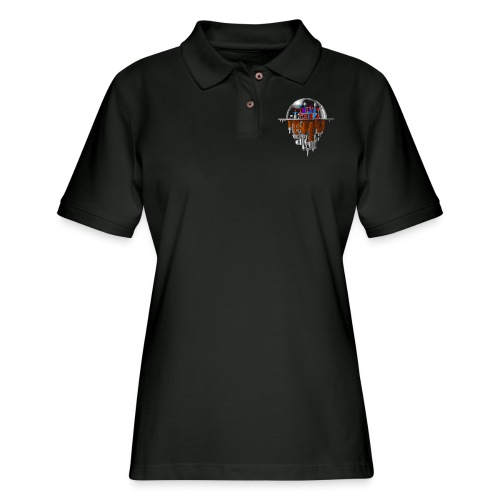 Sky city - Women's Pique Polo Shirt