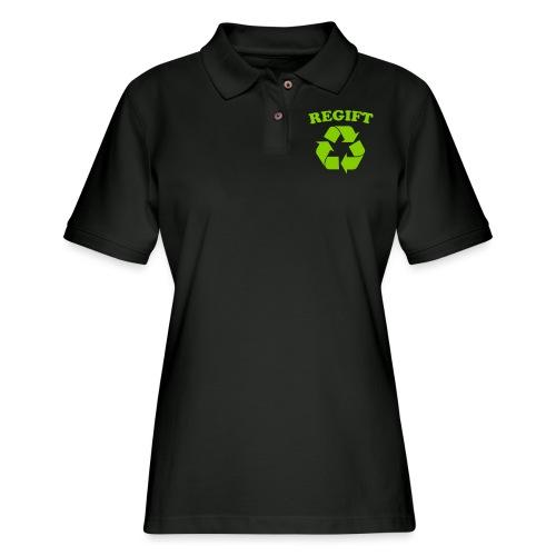 Regift - Women's Pique Polo Shirt