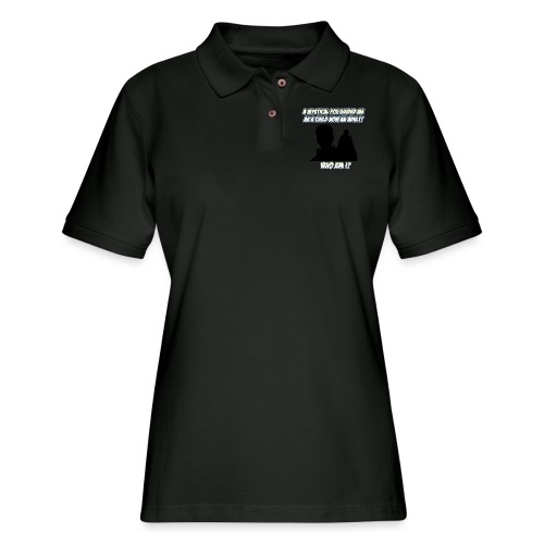 AnimeBusters Guess Who Series? - Women's Pique Polo Shirt